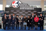 浪琴表香港盃的祝酒儀式賽後在馬會廂房舉行。