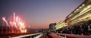 圖16, 17, 18, 19<br> 全日賽事過後,沙田馬場上空發放璀璨煙火,為浪琴表香港國際賽事畫上完美句號。