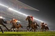 香港代表「威爾頓」(7號馬)在一級賽杜拜司馬經典賽(草地2410米)中跑獲殿軍。法國佳駟「多麗盈」奪得冠軍。