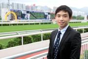 見習騎師黃皓楠認為兩年半的海外培訓,有助他在港開展策騎事業。