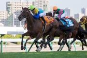 圖一、二<br> 莫雷拉夥拍Jungle Cruise(8號馬),勝出今日於札幌競馬場舉行的世界星級騎師大賽次關賽事。