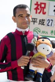 莫雷拉今日於札幌競馬場的頭場賽事中,策兩歲雌馬Sumire取得其在日本的首場頭馬,他於賽後接受訪問。