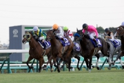 Rich Tapestry (white cap �V No. 1) finishes sixth in the G1 Sprinters Stakes (1200m) at Nakayama Racecourse, Japan this afternoon (Sunday, 4 October).