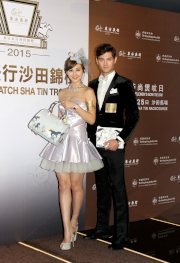 藝人高海寧小姐及男模特兒演繹多款限量版精品。