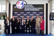 浪琴表香港瓶的祝酒儀式賽後在馬會廂房舉行。
