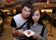 情人節主題甜品及節日美食在沙田馬場美食專區《好賞食》發售。