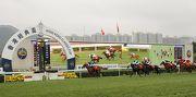 圖一, 二, 三<br> 四歲馬經典賽事系列次關賽事香港經典盃今日於沙田馬場舉行,由約翰摩亞訓練、莫雷拉策騎的「佳龍駒」(1號馬),勝出此項1800米賽事。