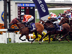 HELENE PARAGON wins the Queen's Silver Jubilee Cup