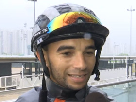Joao Moreira talks about his decision to pursue a riding career in Japan